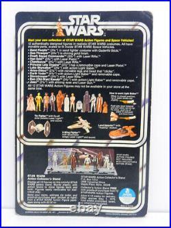 12 Back Darth Vader Figure Moc Vintage Star Wars 1977 Kenner