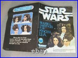 12 vintage Kenner Princess Leia Star Wars Large-Size figure COMPLETE in BOX