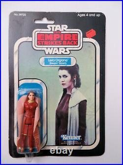 1977 1980 Star Wars Princess Leia Bespin Gown 31 back figure MOC Vintage Kenner