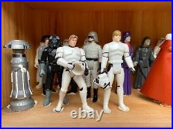 1977-1983 Vintage Star Wars 94 Action Figures with Original Weapons
