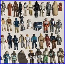 1977 To 1984 Vintage Star Wars First 83 Released Different Action Figures