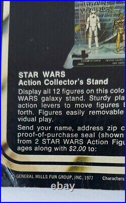 1977 Vintage Kenner Star Wars 12 back Darth Vader Action Figure