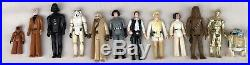 1977 Vintage Star Wars First 12 Action Figures Mail Away Display Stand Original