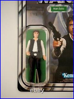 1978 Star Wars Han Solo Vintage Kenner Action Figure MOC, Large Head, 12 Back C