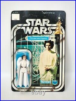 1978 Star Wars Princess Leia Organa Vintage Kenner Figure Unpunched 12 Back, MOC