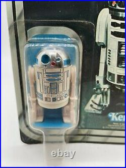1978 Star Wars R2-D2 Vintage Kenner Action Figure MOC Sealed, 12 Back 1977