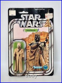 1978 Star Wars Sand People Vintage Kenner Action Figure 12 Back B MOC, Sealed