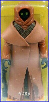 1978 Vintage Kenner Star Wars 12 Back-A Jawa with Vinyl Cape Action Figure AFA 7
