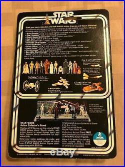 1978 Vintage Kenner Star Wars 12 Back B Vinyl Cape Jawa Action Figure MOC Grail