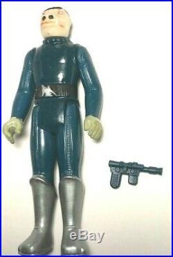 1978 Vintage Star Wars Blue Snaggletooth Action Figure Dented Toe RARE Hong Kong