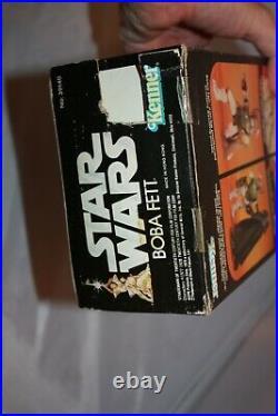 1979 Kenner Vintage Star Wars Boba Fett 12 inch Figure with box 21 back