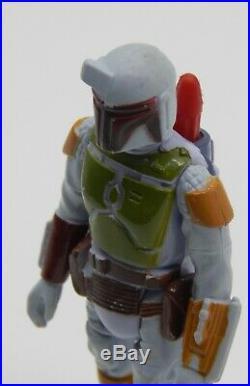 1979 vintage Star Wars BOBA FETT action figure PBP Meccano TRI LOGO variant RARE