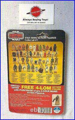 1980 At-At Commander MOC Carded Vintage ESB Star Wars 47 Back Kenner Figure NEW