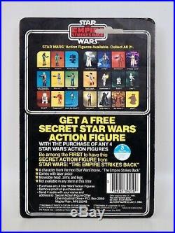 1980 Star Wars ESB Boba Fett Kenner Vintage Action Figure 21 Back, MOC Carded