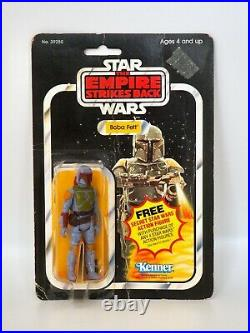 1980 Star Wars ESB Boba Fett Kenner Vintage Action Figure MOC Sealed, 21 Back