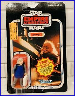 1980 Star Wars ESB Ugnaught Vintage No POP Action Figure 41 Cardback MOC, Sealed