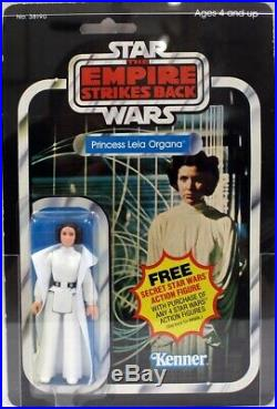 1980 Vintage Kenner Star Wars ESB 21 Back Princess Leia Organa Action Figure AFA