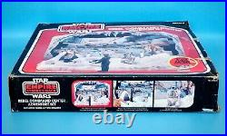 1981 Star Wars ESB Rebel Command Center Vintage Kenner Sears Playset with Figures