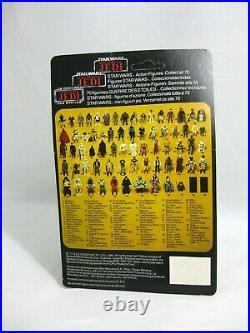1983 Vintage Star Wars Romba Tri-logo Last 17 Figure Moc E53
