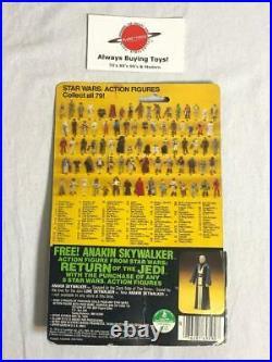 1983 Wicket MOC Carded ROTJ 79 Back Vintage Star Wars Figure Kenner