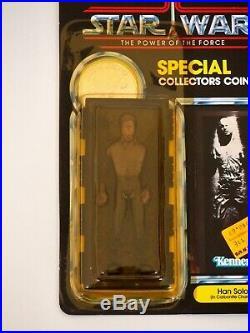 1984 Star Wars POTF Han Solo Carbonite Vintage Kenner Action Figure MOC, Last 17