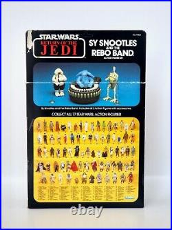 1984 Star Wars Sy Snootles and the Rebo Band Vintage Kenner Action Figures MOC