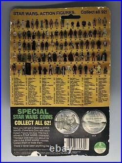 1984 VINTAGE STAR WARS LUMAT ACTION FIGURE COMPLETE LAST 17 POTF MOC CrackedBUB