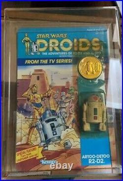 1985 Kenner Vintage Star Wars Droids Tv Series R2d2. 3 3/4 Action Figure