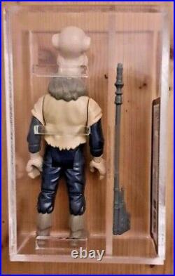 1985 Vintage Star Wars Yak Face Kenner Figure UKG 85/85 Not AFA Last 17 No COO
