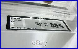 1985 Vintage Star Wars Yak Face Last 17 Figure UKG 80/80 AFA #2