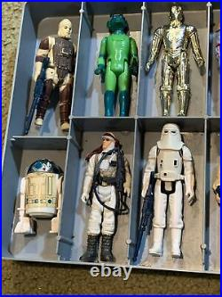 24 Vintage 1977 To 1983 Star Wars, ESB, ROTJ, Action Figures Lot All with Weapons