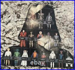 31 Vintage Star Wars Figures Lot with Case/insert original 1977 1984