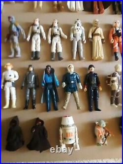 51 Vintage Kenner Star Wars Loose Figures 3.75 from 1979 80 83 1 Owner No Case