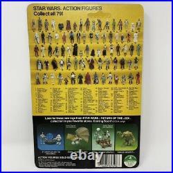 79 Back Yoda Brown Snake Pac-Man Figure ROTJ Kenner Vintage Star Wars 1983