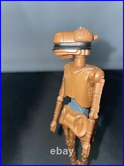 EV-9D9 100% Original 1985 Star Wars POTF Last 17 Kenner Action Figure Vintage