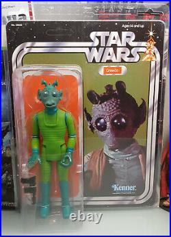 Gentle Giant Star Wars Jumbo Vintage A New Hope Greedo Action Figure Rare New