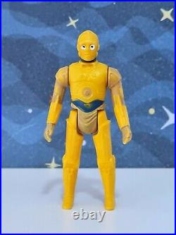 Glasslite C3po Vintage Star Wars Droids Figure Brazil 80's