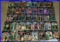 HUGE Star Wars Vintage Collection Lot rare Figures! Boba fett the mandalorian