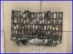 Harveys Seatbelt Streamline Tote / Star Wars Vintage Action Figures