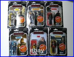 HasLab Razor Crest Star Wars Vintage Collection & 6 figures Pre-Order with Proof