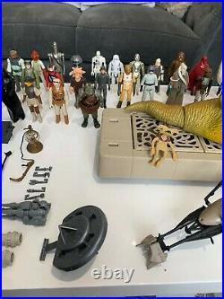 Job lot star wars 1977 vintage figures