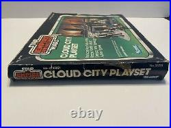 K1996283 CLOUD CITY PLAYSET With BOX & FIGURES 1981 STAR WARS EMPIRE ESB VINTAGE