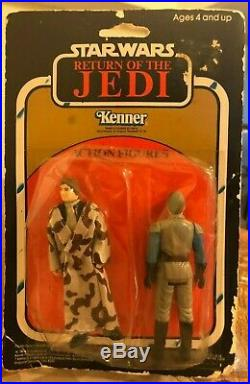 Kay Bee Vintage Star Wars ROTJ Action Figure 2-Pack Han Solo General Madine MOC