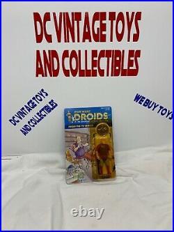 Kenner Star Wars Droids Jord Dusat 3 3/4 inch Vintage Figure UNPUNCHED LOOK