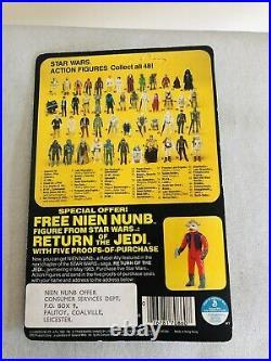 MOC Vintage Kenner Star Wars ROTJ 48 Back Zuckuss Action Figure Nien Numb Offer