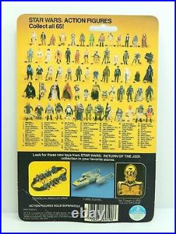 Made In Mexico LILI Ledy Yoda Figure Moc Vintage Star Wars Kenner 1977 Rotj