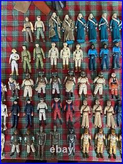 Massive Vintage Star Wars Lot 114 Figures 1978-1985- Barada, Amanaman, Boba Fett