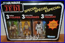 NIP Star Wars The Vintage Collection Jabba Skiff Sarlacc Pit Plus 6 Figure Lot