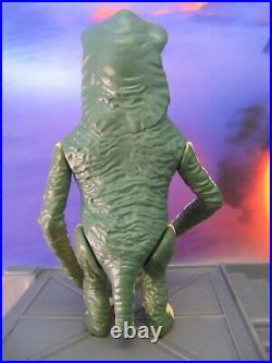 N. MINT+ AMANAMAN with ORIGINAL STAFF vintage Kenner Star Wars figure 1985 LAST 17