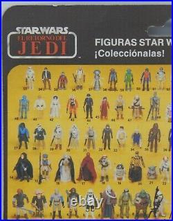 PBP vintage SNAGGLETOOTH Star Wars MOC action figure Retorno Del Jedi RARE Spain